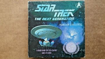 Star Trek The Next Generation Romulan Challenge Game  by MMG 1992